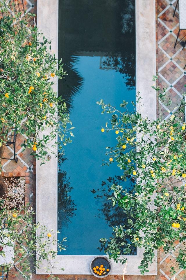 Une piscine pour des espaces plus restreints